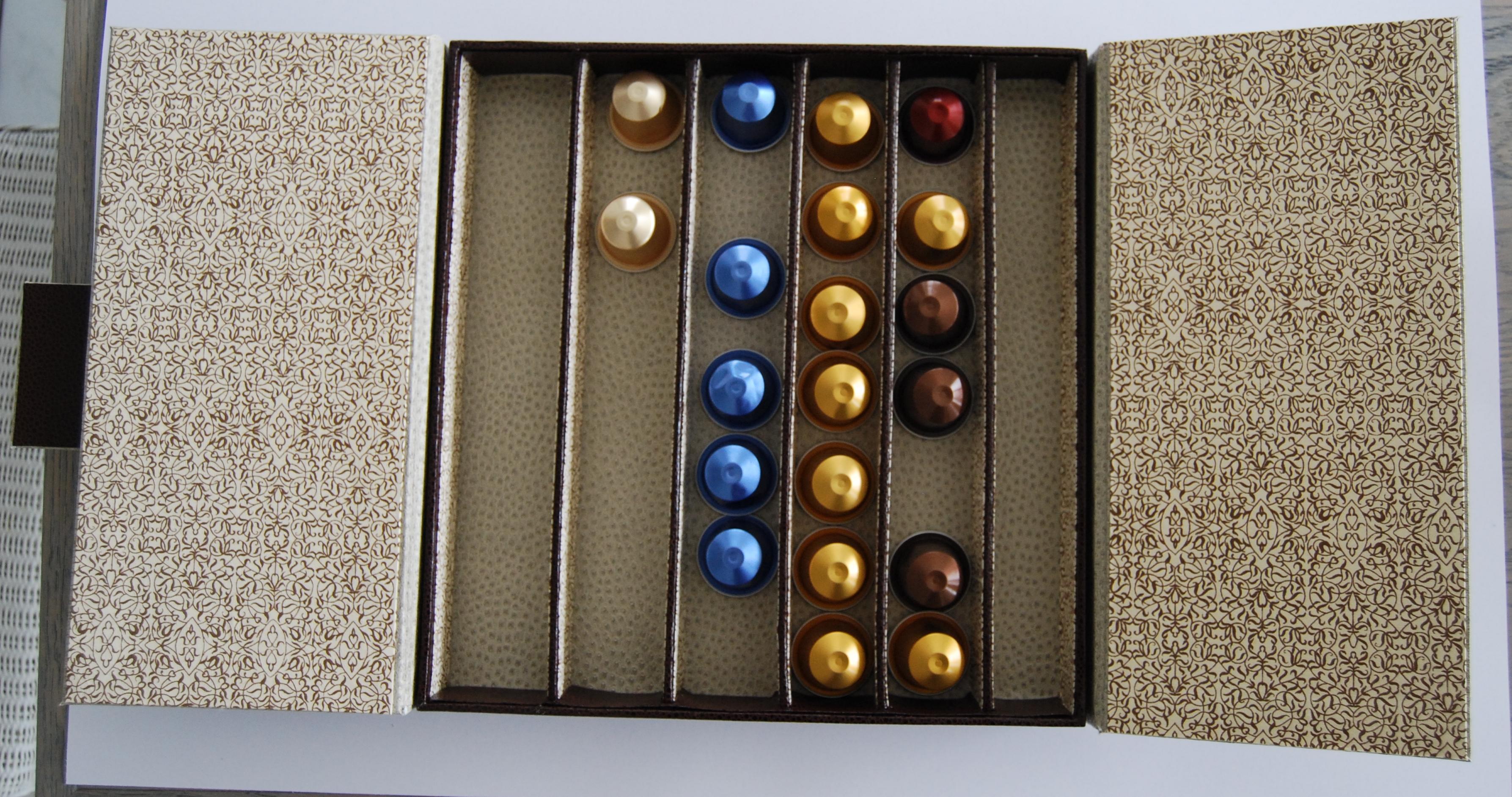 Boite capsules nespresso dominocrea - Boite capsule nespresso ...