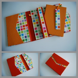 cahier orange